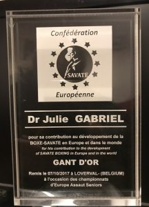 Dr Julie Gabriel Award